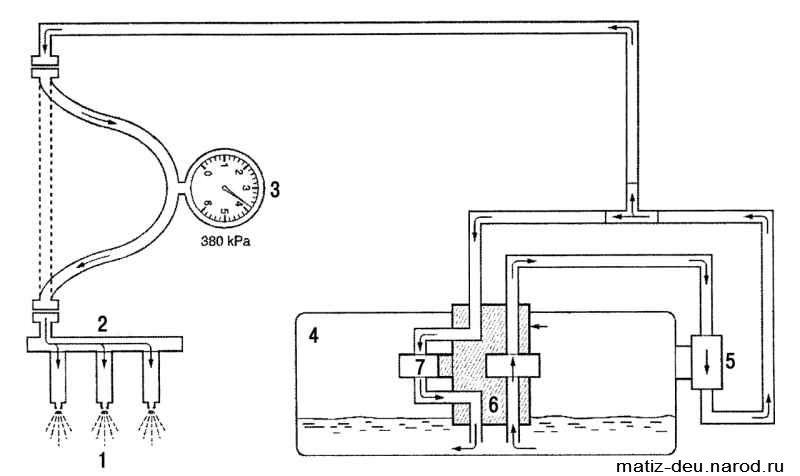 Топливный насос установлен