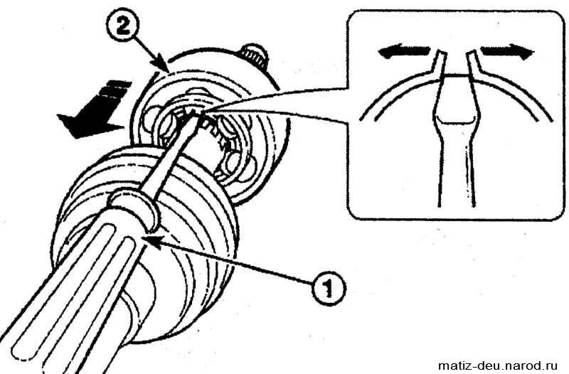 Кольцо с матиз стопорное гранаты как дэу снять на