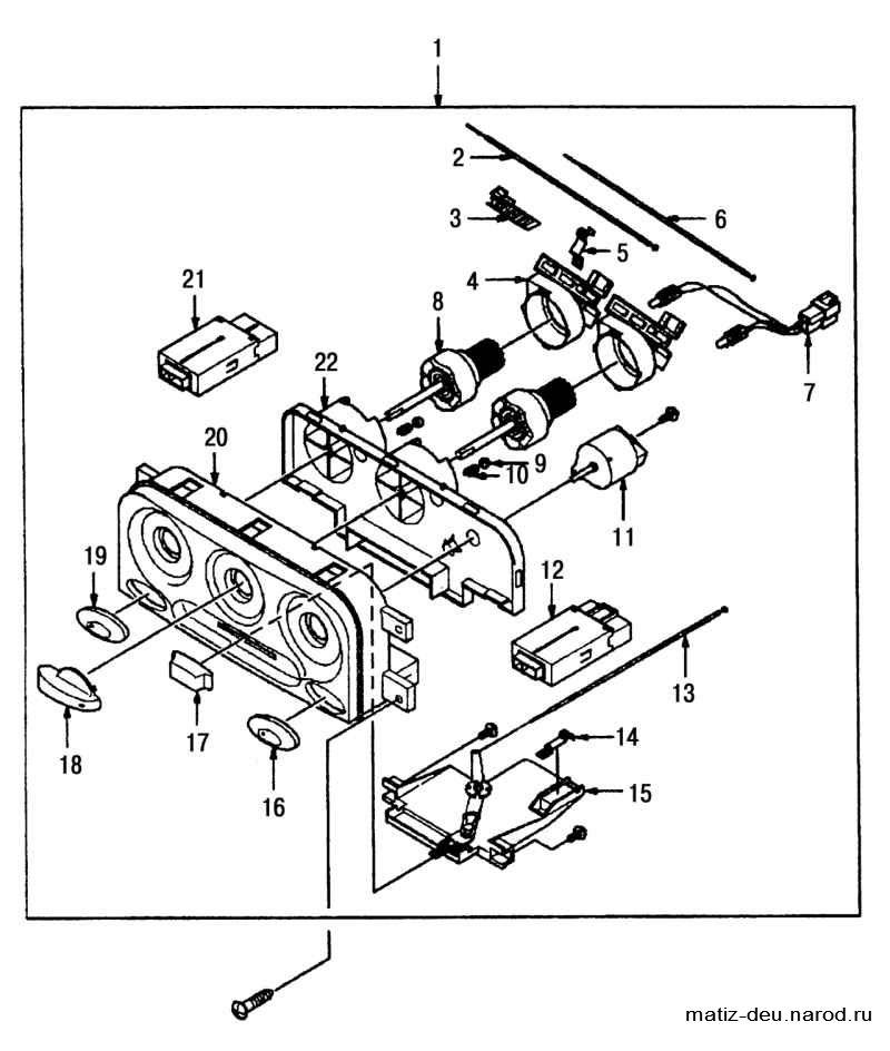 Daewoo Matiz 0 8 Wiring Diagram
